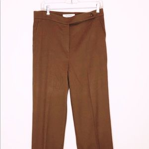 MaxMara Camelhair Pants, Sz 12